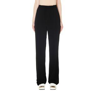 Balenciaga Black Tailored Trousers- female, 40; Black