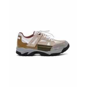 Maison Margiela Security Sneakers with Vibram Sole- female, 40; Khaki