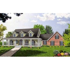 Spacious Home Plan with Charming Details