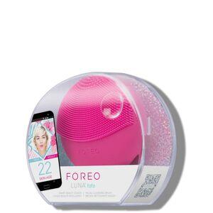 FOREO LUNA fofo Facial Brush with Skin Analysis (Various Shades) - Fuchsia
