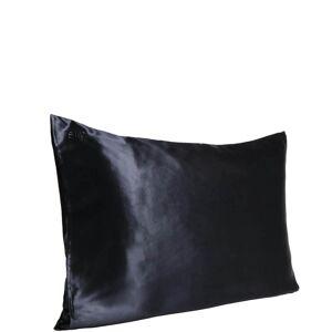 Slip Silk Pillowcase - Queen (Various Colors) - Black