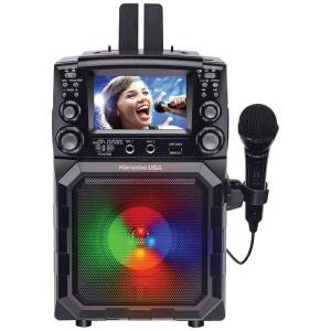 KARAOKE USA GQ450 Portable CDG/MP3G Karaoke Player with 4.3-Inch Color TFT Screen