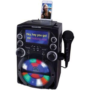 KARAOKE USA GQ740 CD+G Karaoke System with 4.3 INCH Color TFT Screen
