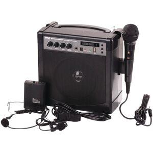 PYLE PWMA220BM Portable Bluetooth Karaoke PA Amp & Microphone System