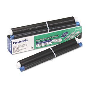 PANASONIC KX-FA91 KXFA91 Film Roll Refill, Black, 2 Rolls/Box