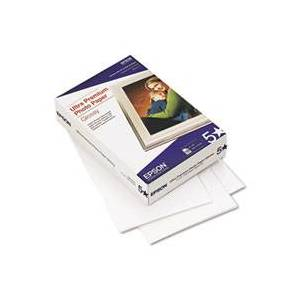 EPSON S042174 ULTRA-PREMIUM GLOSSY PHOTO PAPER, 4 X 6, 100 SHEETS PER PACK