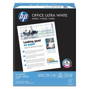 HEWLETT-PACKARD 11210-1 Office Paper, 92 Brightness, 20lb, 8-1/2 x 11, White, 5000 Sheets/Carton