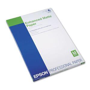 EPSON S041339 Ultra Premium Matte Presentation Paper, 13 x 19, White, 50/Pack