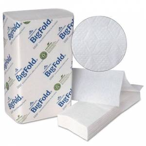 GEORGIA PACIFIC 33587 Z-Fold Replacement Paper Towels, 8x 11, 220/Pack, 10/Carton