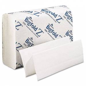 GEORGIA PACIFIC 20887 Z Paper Towels, 8 x 11, White, 220/Pack, 10/Carton