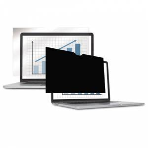 FELLOWES 4800601 Wide Black-Out Privacy Frameless Filter For 14.1 INCH LCD/NTBK, Antiglare