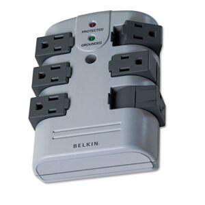 BELKIN BP106000 Pivot Plug Surge Protector, 6 Outlets, 1080 Joules