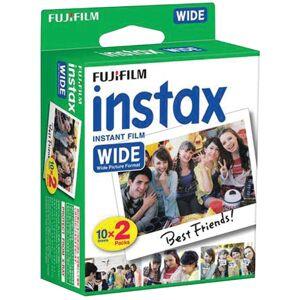 FUJIFILM 16468498 instax WIDE Film Twin Pack