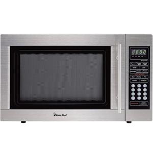 MAGIC CHEF MCD1310ST Microwave,1.3cf Countertop, 1KW, SS