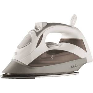 BRENTWOOD MPI-90W Steam Iron with Auto Shutoff & Retractable Cord (White)