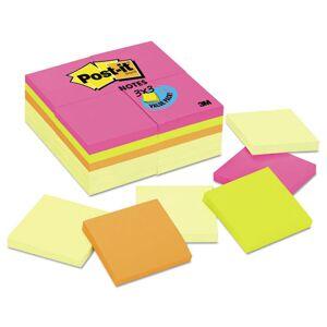 3M 654-CYP-24VA 3 x 3, Canary Yellow, Aquatic, Ultra, 24 100-Sheet Pads/Pack