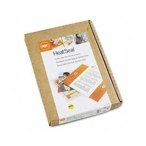 GBC 3200716 HeatSeal LongLife Premium Laminating Pouches, 5 mil, 11 1/2 x 9, 100/Box
