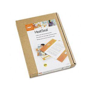 GBC 3200717 HeatSeal LongLife Premium Laminating Pouches, 7 mil, 11 1/2 x 9, 100/Box