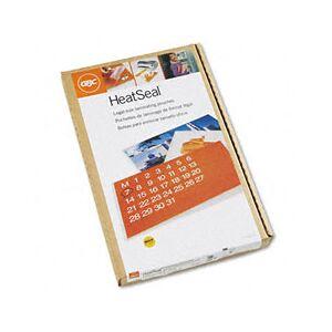GBC 3740473 HeatSeal LongLife Premium Laminating Pouches, 5 mil, 9 x 14 1/2, 100/Box