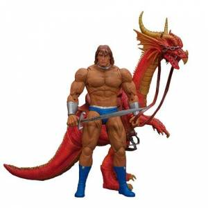 Video Games Golden Axe Ax Battler and Red Dragon 1:12 Scale Action Figure