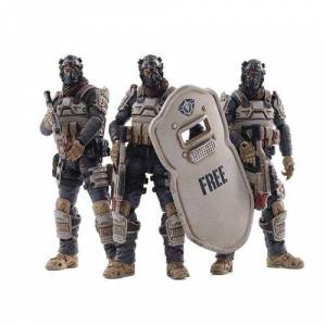 Military Joy Toy Free Truism 15th Moon Wolf Fleet 1:18 Scale Action Figure 3-Pack