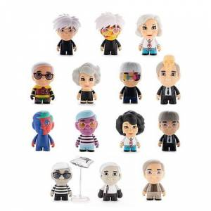 Andy Warhol Many Faces of Andy Mini-Figure Random 4-Pack