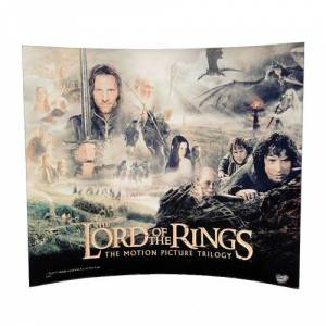 The Lord of the Rings Lord of the Rings Character Collage Glass StarFire Photo