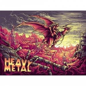 Heavy Metal Variant Edition by Dan Mumford Art Print