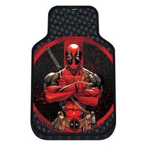Deadpool Repeater Plasticlear Floor Mat 2-Pack