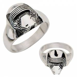 Star Wars: Episode VII - The Force Awakens Kylo Ren 3D Cast Stainless Steel Ring