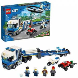 Lego 60244 City Police Helicopter Transport