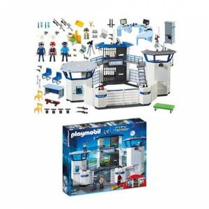 Playmobil 6919 Police Headquarters with Prison Playset