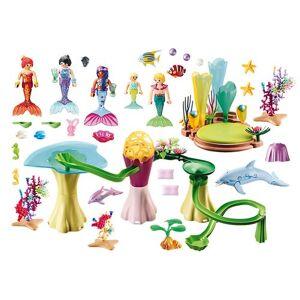 Playmobil 70094 Magical Mermaids Mermaid Cove with Illuminated Dome Playset