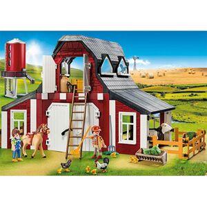 Playmobil 9315 Barn with Silo