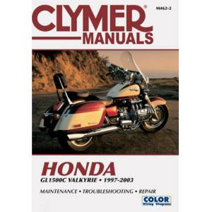 Haynes Manuals US Honda GL1500C Valkyrie Motorcycle (1997-2003) Service Repair Manual