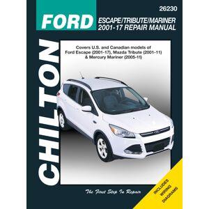 Haynes Manuals US Ford Escape/Tribute/Mariner (2001-17) covering Ford Escape, Mazda Tribute (2001-12) & Mercury Mariner (2005-11) Chilton Repair Manual (USA)