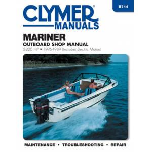 Haynes Manuals US Mariner 2-220 HP Outboards Including Electric Motors (1976-1989) Service Repair Manual Online Manual
