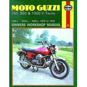 Haynes Manuals US Moto Guzzi 850 and 1000 V-Twins 844cc and 949cc (75-78) Haynes Repair Manual