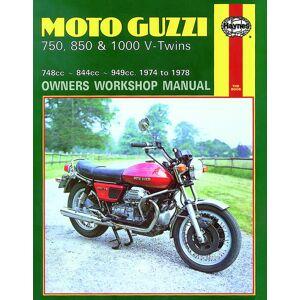 Haynes Manuals US Moto Guzzi 850 and 1000 V-Twins 844cc and 949cc (75-78) Haynes Repair Manual