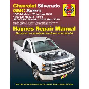Haynes Manuals US Chevrolet Silverado & GMC 1500 Pick-ups (14-18), 1500 LD models (19) & 2500/3500 Pick-ups (15-19) including 2015 thru 2019 Suburban, Tahoe,...