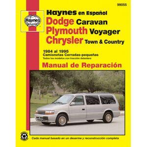Haynes Manuals US Dodge Caravan, Plymouth Voyager, Chrysler Town & Country Camionetas Cerradas-pequeñas Haynes Manual de Reparación: (84-95) (Todos los modelos...