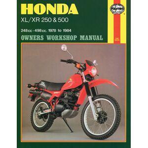 Haynes Manuals US Honda XL/XR with 250cc & 500cc (78-83) Haynes Repair Manual