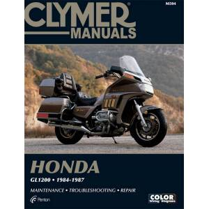 Haynes Manuals US Honda GL1200 Gold Wing Motorcycle (1984-1987) Service Repair Manual