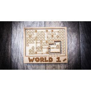 ORIGIN ARTWORK MARIO 3 WORLD 1 6x7