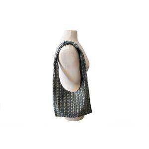 PROFUGO MARKET Gray Ripples Sling Bag