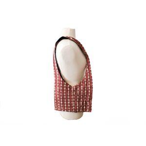 PROFUGO MARKET Red Ripples Sling Bag
