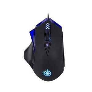 Power Link MAGIC REFINER MG4 6 Keys 4000 DPI USB Wired Optical Gaming Mouse Adjustable LED Backlit for PC Laptop