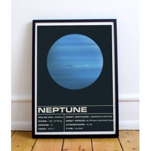Sons of Wolves Neptune Dark 12x18 inches