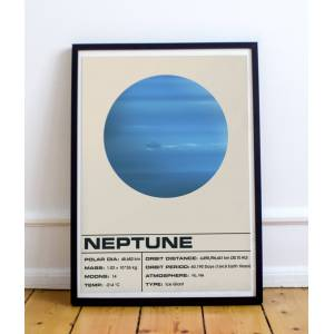 Sons of Wolves Neptune Light 12x16 inches