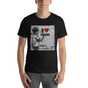 concepttees Concept Tees An Hats,i Love Miami Dark Grey Heather / M